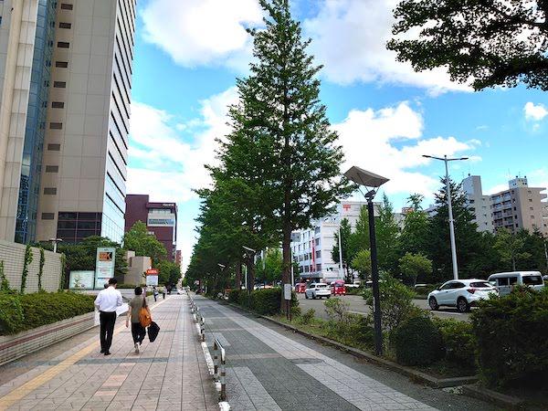 村上屋餅店への仙台駅からのアクセス