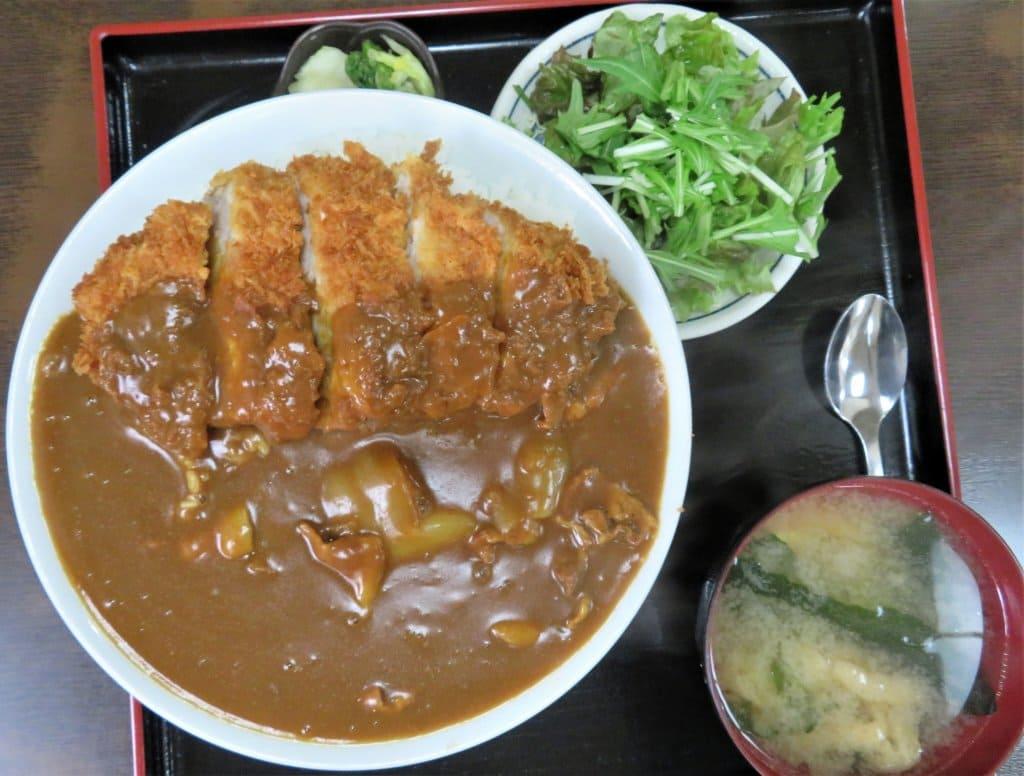 久美食堂の「カツカレー」