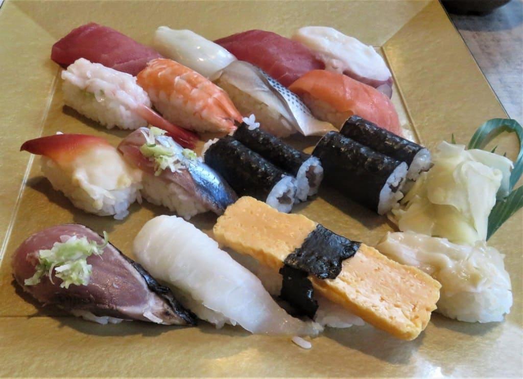 力寿司大盛りにぎり